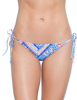 Betsey Johnson Belle Flower String Bikini Bottom
