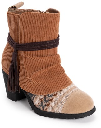 Muk Luks Celyn Women's Water-Resistant Ankle Boots