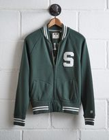 Tailgate Women's Michigan State Bomber Jacket