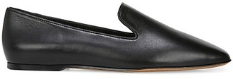 Vince Clark Square-Toe Leather Loafers