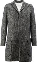 Rochas concealed front coat