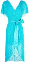 Alice + Olivia Darva wrap dress