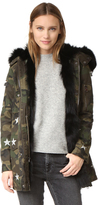 Jocelyn Army Fabric Cargo Coat
