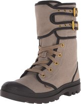 Palladium Women's Pampa Pleoton TW Zip Combat Boot