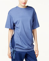 DKNY Cotton Tie-Hem T-Shirt