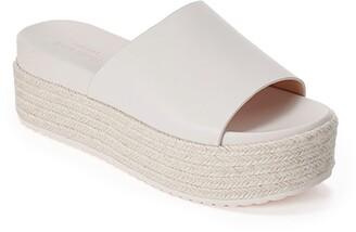 Kate Spade Zia Platform Espadrille Slide Sandal