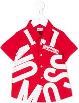 Moschino Kids - printed shirt - kids - Cotton - 24-36 mth