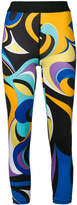 Emilio Pucci abstract print leggings