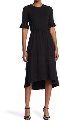 One One Six 3/4 Sleeve Midi Length Dress