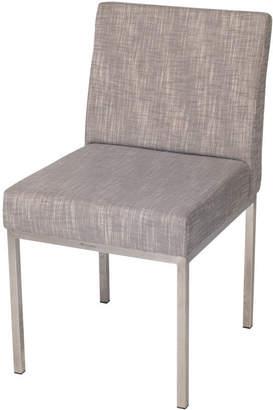 Roger Vivier R&V Living Aqua Dining Chair in Light Grey