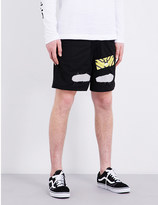 Off-White Spray-effect shell shorts