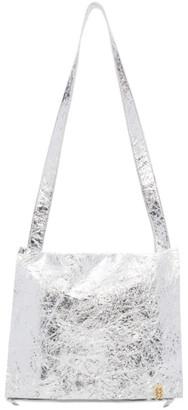 Visvim Silver Folie Bag