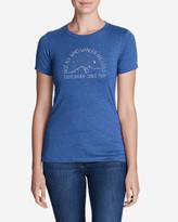 Eddie Bauer Women's Graphic T-Shirt - Wanderers