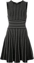 Ronny Kobo flared striped dress