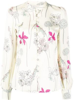 Goat Judy Foxglove print shirt