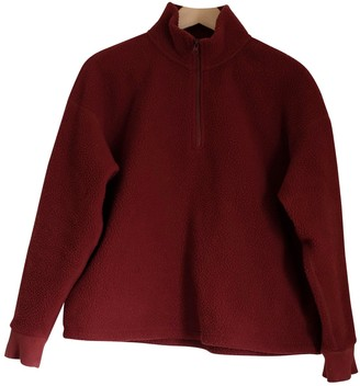 Everlane Burgundy Synthetic Knitwear