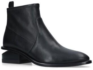 Alexander Wang Cut-Out Heel Boots