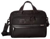 Tumi Alpha 3 Small Screen Expandable Laptop Brief (Black) Luggage