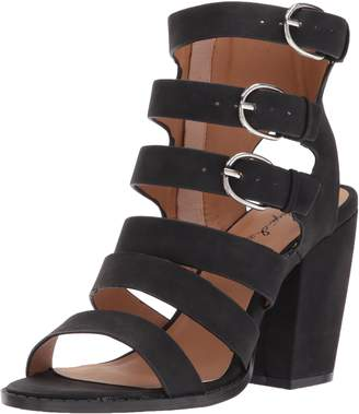 Qupid Women's LOST-13X Heeled Sandal