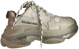 Balenciaga Triple S White Rubber Trainers