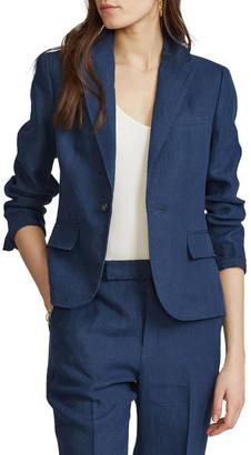 Polo Ralph Lauren Linen Single-Button Blazer