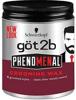 Got2b Phenomenal Grooming Hair Wax, 3.5 Ounce