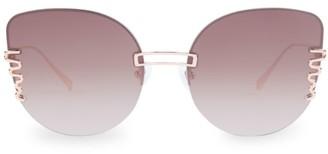 For Art's Sake Girlboss 61MM Cat Eye Sunglasses