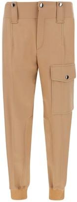 Chloé High-Waisted Cargo Trousers