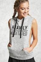 Forever 21 Active Meditated Drop Hoodie