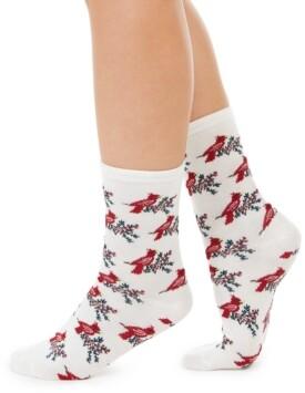 Charter Club Women's Cardinal Crew Socks, Created for Macy's