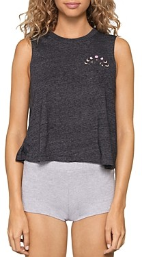 Spiritual Gangster Look Cropped Graphic Tank