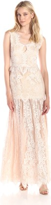 Erin Fetherston Erin Women's Joanna V-Neck Lace Gown