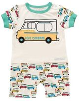 Rockin' Baby Seaside Ice Cream Van Shorty Romper