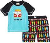 JCPenney BABY BUNS Baby Buns 2-pc. Surf's Up Swim Set - Boys 2t-4t