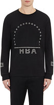 Hood by Air Men's Crystal-Logo Jersey T-Shirt-BLACK