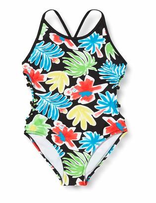 Tuc Tuc Tuc Baby Girls' Sunset B. Swimsuit Black (Negro 30) One (Size: 14A)