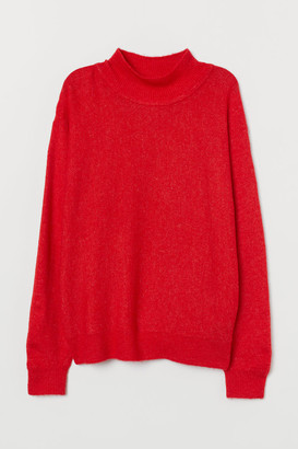 H&M Fine-knit Sweater - Red