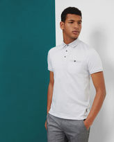 Ted Baker Jacquard polo shirt