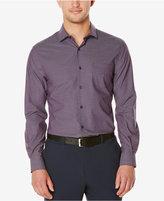 Perry Ellis Men's Big & Tall Iridescent Stripe Long-Sleeve Shirt
