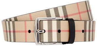 Burberry Vintage Check E-Canvas Belt