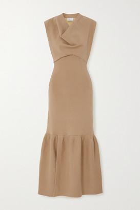 3.1 Phillip Lim Tiered Wool-blend Maxi Dress - Sand