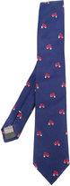 Canali vespa print tie - men - Silk - One Size