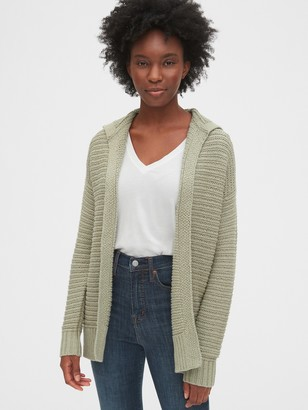 Gap Hooded Cocoon Cardigan