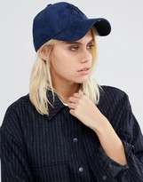 New Era Suede 9 Forty Cap in Ink Blue