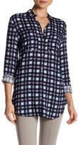 Basler Pocketed Check Print Shirt