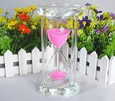 Creative 15/30 Minutes Heartshaped Hourglass Sand Timer
