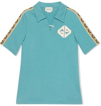Gucci Kids Interlocking G polo shirt dress