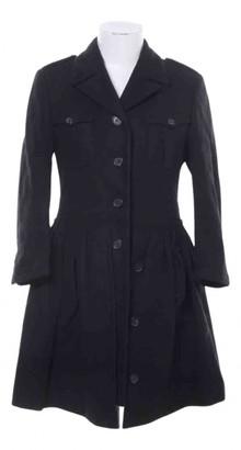 Miu Miu Black Wool Coats
