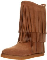 Koolaburra Women's Josie Fringe Shearling Boot