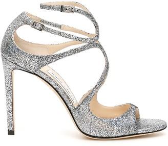 Jimmy Choo Glitter Lang Sandals